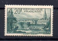 France 1938 20f green mint LHM SG601 WS16985