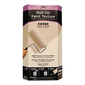 HOMAX Paint Texture Additive SUEDE Light Finish - Mix In 1 Gallon - Roll On