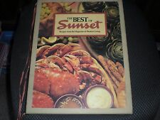 The Best of Sunset Recipes from the Magazine of Western Living Cookbook Vintage