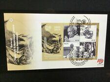 2019 Malta Birth of Mohandas Karamchand Gandhi 150th Anniversary FDC Mini Sheet