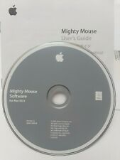 Apple Mighty Mouse Software for Mac OS X  Install Disk Version 1.1