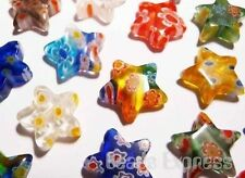 Star Glass Jewellery Making Beads