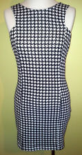 Ladies Womens Sleeveless Mini Dress Fitted Stretch Bodycon Valleygirl Size M 10