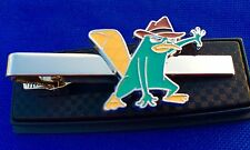 Perry Tie Bar The Platypus Phineas and Ferb Tie Clip Kids TV Show Tie Clasp