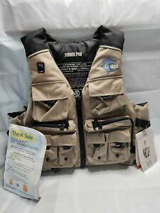 MTI Adult XS/Small Flotation Aid Life Vest Life Jacket  Fishing Fisher Pro