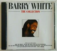 """BEST OF CD ■ BARRY WHITE - COLLECTION (Never never gonna give you up 12"""" remix)"""