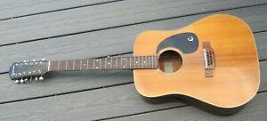 For Repair Made Japan EPHIPHONE BIG TEXAN FT 160N 12 String Acoustic Guitar