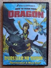 HOW TO TRAIN YOUR DRAGON. DVD Film in Albanian language. Shqip