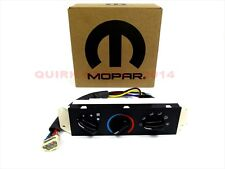99-04 Jeep Wrangler WITHOUT Air Conditioning A/C & Heater Control UNIT MOPAR OEM