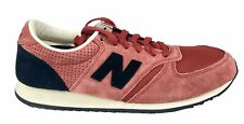 New Balance Mens Classic Sneakers Shoes Pink Black White Size 4 U420CK New