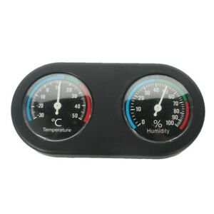 Abu I Pet Double dial thermometer and hygrometer for reptile aquarium tank