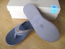 NEW Sperry Topsider Men's Wahoo Sandal Thong Dark Brown Boat Shoe 10 M
