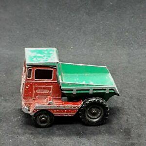 Muir Hill Dumper (2-C) Lesney Matchbox Series Vintage Die-Cast Vehicle 1960s