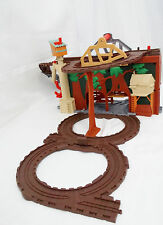 Thomas the Train & Friends Take Along Play-Fold and Go! Brown/Gray Tracks/Tree