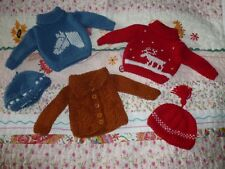 SASHA DOLL -  BEAUTIFULLY HAND KNITTED CLOTHES FOR YOUR SASHA/GREGOR DOLLS