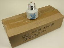 12x Porcelain Lampholder Socket Entender Medium to Medium Base (E26) - NIB