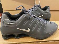 Size 14 - Nike Shox NZ Dark Grey - 378341-059