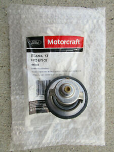 FORD F4TZ-8575-CB F4TZ8575CB MOTORCRAFT RT1203 ENGINE COOLANT THERMOSTAT OEM NEW