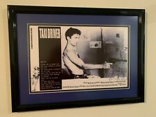 Robert De Niro Taxi Driver Autographed Professionally Framed/Matted W/ (Coa)