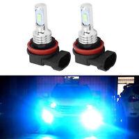 2x H11 H8 H9 35W LED Headlights Bulbs Conversion Kit/Fog Lights 8000K Blue