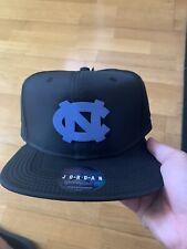 Air Jordan North Carolina Black Blue Snapback Hat Cap