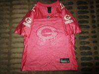 Aaron Rodgers #12 Green Bay Packers NFL Reebok Pink Jersey Womens Small SM