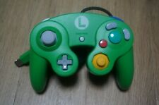Club Nintendo Official Limited Luigi Green Blue Gamecube Controller GC game Wii