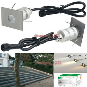 Waterproof Rectangle LED Buried Light Outdoor Staircase 30° Condensing Spotlight