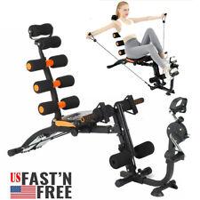 AB Abdominal Exercise Machine Cruncher Trainer Fitness Shaper Body Gym Equipment