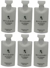 Bvlgari White Tea au the blanc Body Lotion Lot of 6 ea 2.5oz Bottles.