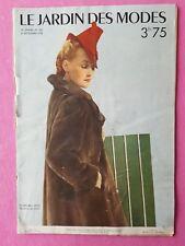 Revue mode Le jardin des modes - 15 septembre 1938  -  24