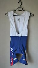 Authentic SMS SANTINI Blue White Cycling Bib Shorts Multipower Active Size S