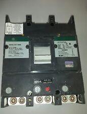 GE TJJ436400, 400 AMP 600 VOLT Circuit Breaker, Green Label