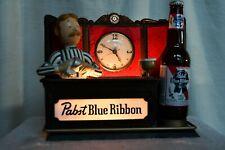c. 1960's Pabst Blue Ribbon Beer PBR Bar Keep Tender Advertising Lighted Sign