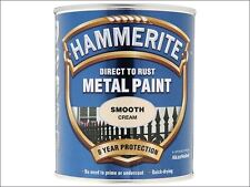 Hammerite - Direct to Rust Smooth Finish Metal Paint Cream 750ml