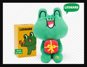 Mcdonalds Line Plush Toys - Leonard LN0005
