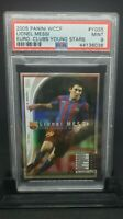 2005 PANINI WCCF LIONEL MESSI SOCER CARD PSA 9 YOUNG STARS 1ST WCCF CARD