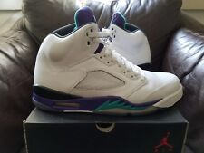 Air Jordan 5 V Retro Grape 11 white purple 6 1 3 4 10.5 11.5 W/ NIKE RECEIPT!!!!