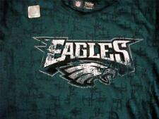 EAGLES WOMENS  BURN OUT TEE SIZES  S, M, L, &  XXL - NEW WITH TAGS
