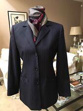 Women's CARLISLE Blazer Jacket Size 4 Navy Wool NWOT Never Worn