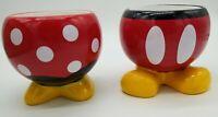 Disney Mickey & Minnie Mouse Planter Ceramic Garden Flower Pot  Set