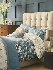 Laura Ashley PARTERRE Seaspray DOUBLE Duvet Cover & Pillowcases Bedset New Blue