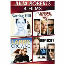 Julia Roberts Lot All in 1: 4-Movie Spotlight Series (DVD, 2013, 3-Disc Set) NEW