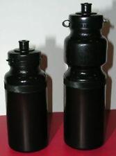 Single Black LDPE Plastic Water Bottle 28oz. 750ml