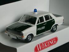 Wiking Opel Kadett POLIZEI weiss-gruen - 0864 16