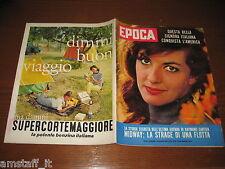EPOCA 1962/625=ANNA MOFFO=SHERRY FINKBINE=TERREMOTO IRAN PERSIA=