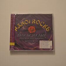 HANOI ROCKS - Back in yer face - 2005 JAPAN CDsingle NEW & SEALED