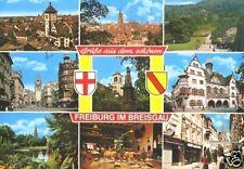 AK, Freiburg im Breisgau, neun Abb., 1988