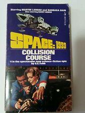 Space 1999: Collision Course (#4) Ec Tubb-pbk-Bantam-1976-phot os-science fiction