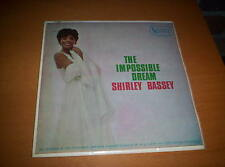 """SHIRLY BASSEY  """"THE IMPOSSIBLE DREAM""""  EP  PICTURE SLEEVE"""